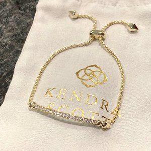 New Kendra Scott Gold Ott Bracelet